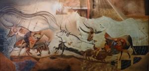 """Suite Pariétale XII """"Ricercare"""" - Huile sur toile - 120 x 60 cm"""