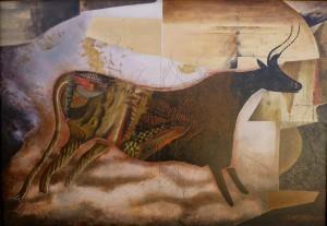 Suite pariétale IV - Fortissimo - huile sur toile - 116 x 81 cm